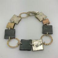 Chunky Squares Bracelet