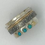 Turquoise Spinnaker Ring